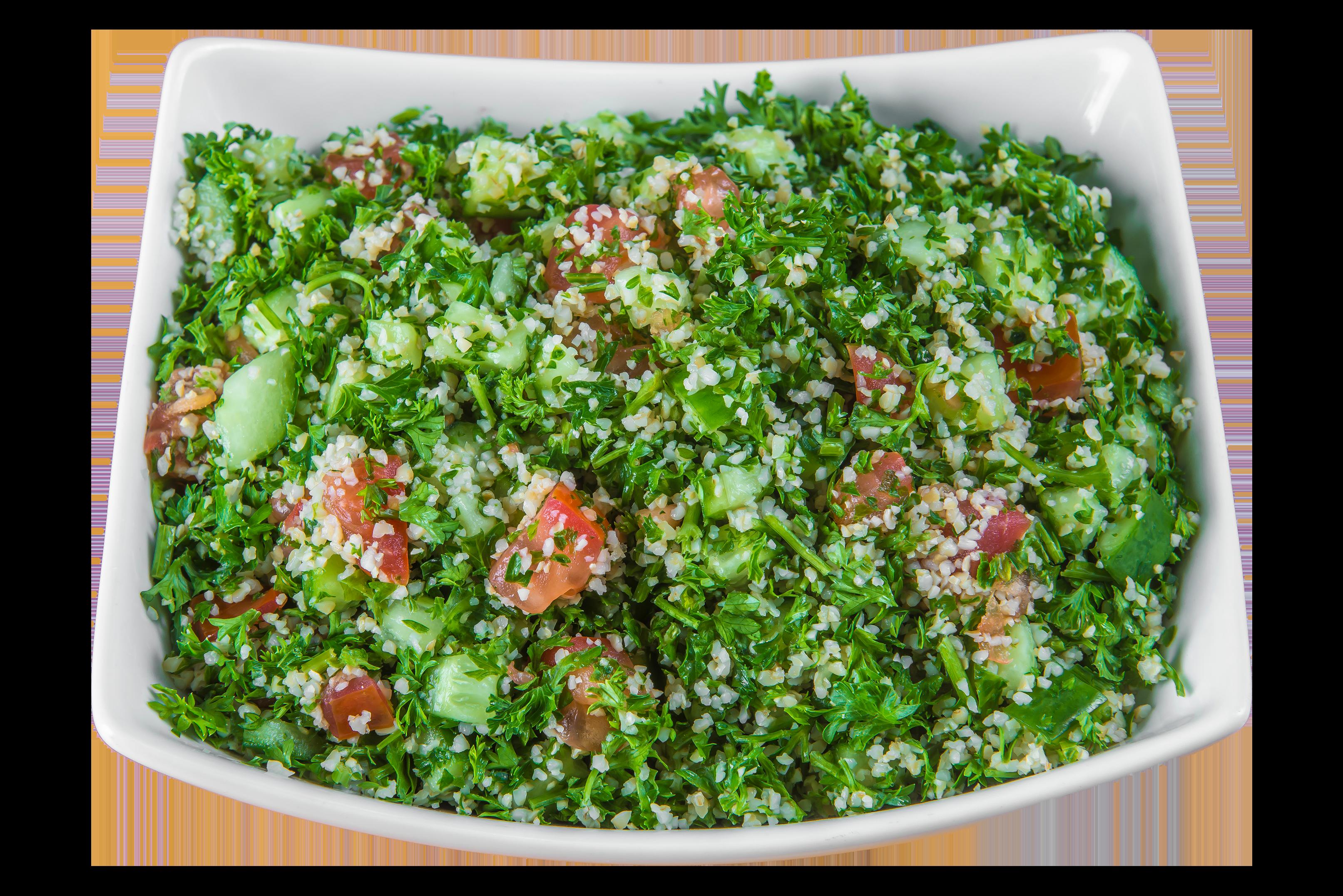 pita cafe tabbouleh salad transparent
